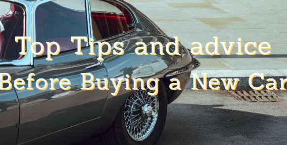 Top Tips and advice before buying a new car