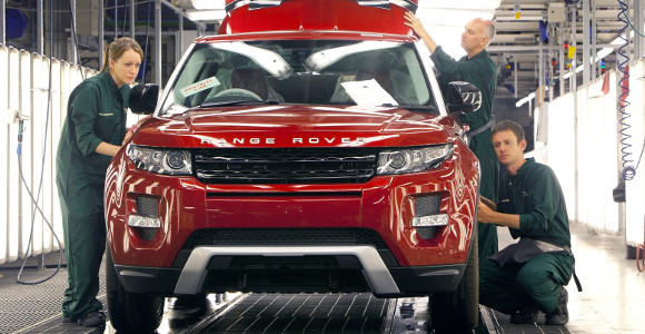 Advanced technology and innovation in the UK car industry