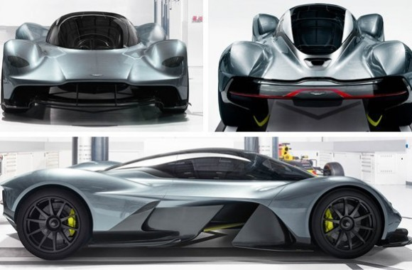 Aston Martin AM-RB 001, the Fastest Street-Legal Car